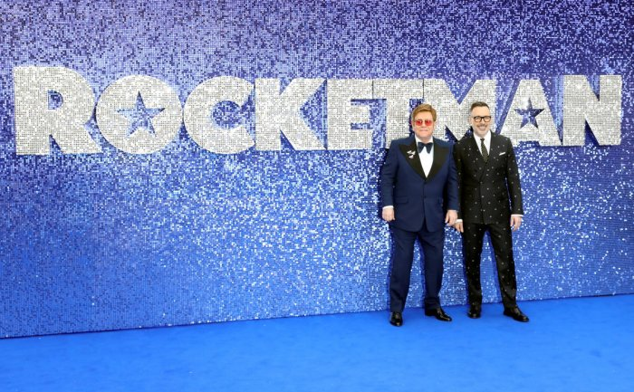 """Elton John has slammed the removal of gay sex scenes from the Russian version of the musical biopic of his life """"Rocketman"""" as """"cruelly unaccepting"""". (Photo Rauters)"""