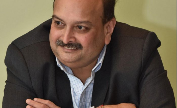 """A special court on Wednesday gave diamond jeweller Mehul Choksi, a key accused in the PNB bank fraud case, time till October 30 to file his reply to an Enforcement Directorate (ED) plea seeking to declare him a """"fugitive"""" under a new law. DH File photo"""