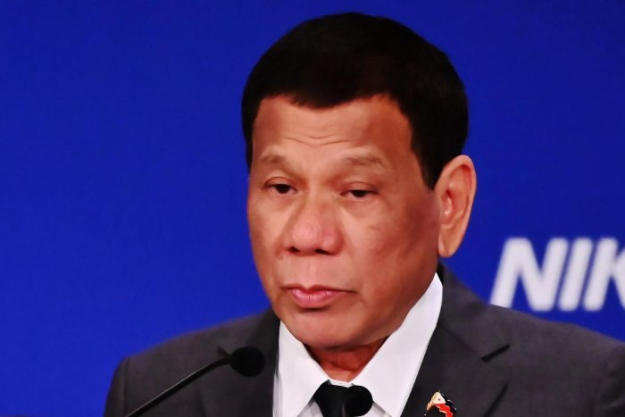Philippine President Rodrigo Duterte (AFP)