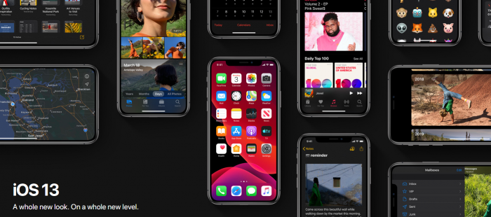 new features of ios 13
