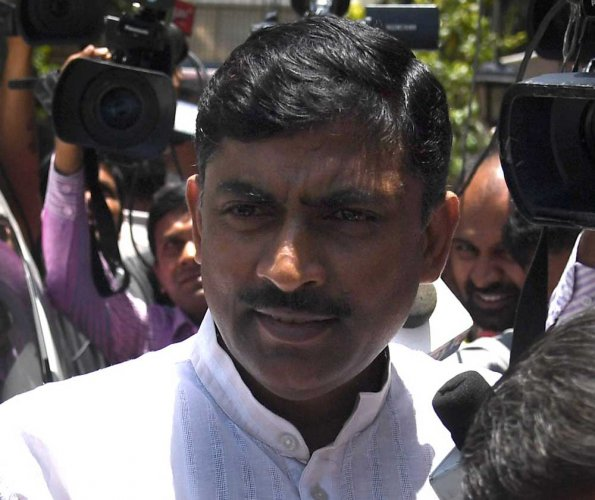 BJP's Karnataka in-charge P Muralidhar Rao. (DH File Photo)