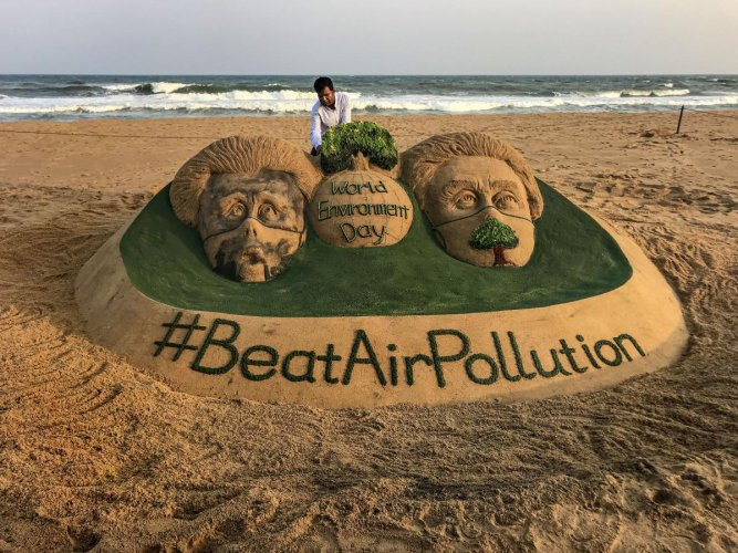 World Environment Day 2019 focuses on air pollution   Deccan