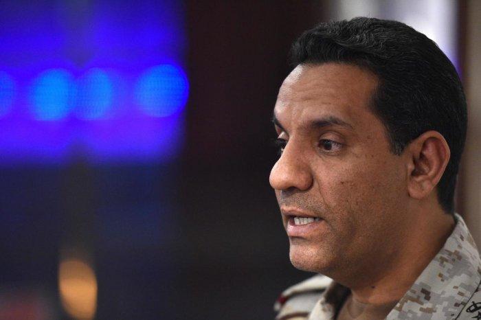 The Saudi military flew rescue paramedics to the Savis, an Iranian vessel some 95 nautical miles northwest of Yemen's contested port city of Hodeida, spokesman Col. Turki al-Maliki said. (AFP File Photo)