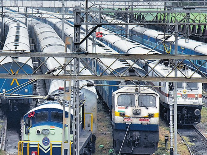 The Indian Railway Catering and Tourism Corporation has begun the 'Bharat Darshan Pravasi' train service.