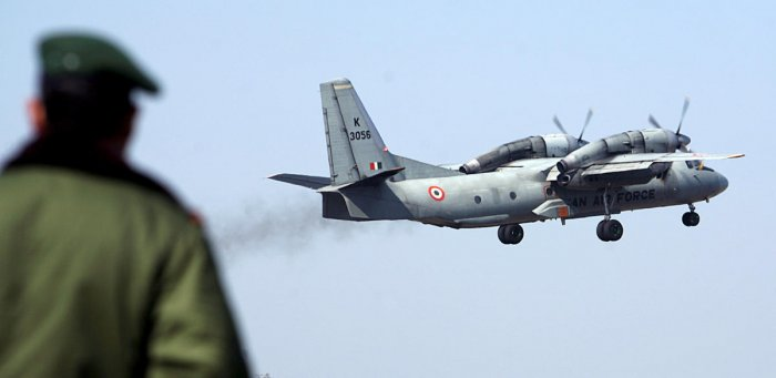 The aircraft, IAF AN-32, took off from Jorhat at 12.27 pm for the Menchuka advance landing ground, and its last contact with the ground control was at 1 pm. A total of eight crew and five passengers were on board the plane. REUTERS/Amit Gupta/File Photo