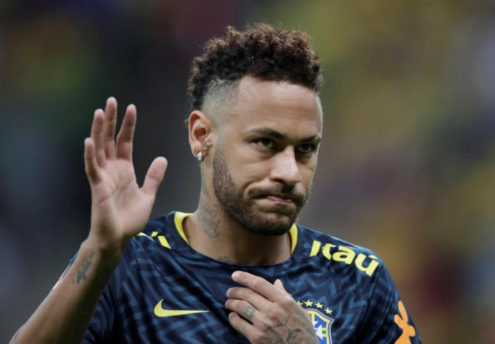Trindade, who says she works as a model, acknowledged that she initially liked Neymar and wanted to have sex with him. (Reuters File Photo)