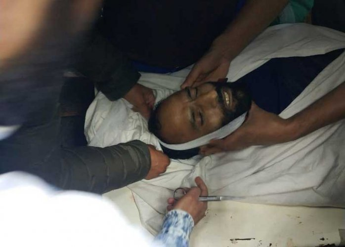 Reports said a Territorial Army (TA) man identified as Manzoor Ahmad Beigh was shot dead by the militants at his residence in Sadoora, Anantnag,