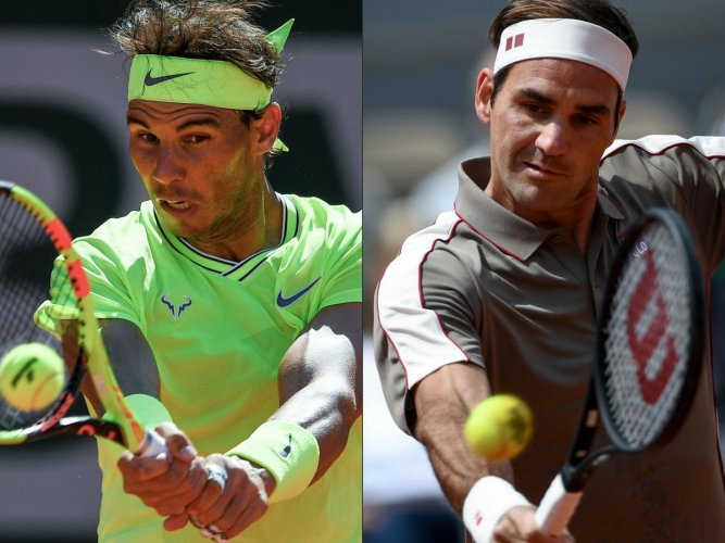 The two will clash in the French Open semifinal for the first time in 14 years. Photo credit: AFP