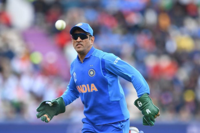 IN A SPOT MS Dhoni's decision to sport the 'Balidaan' insignia on his gloves generated plenty of heat. AFP