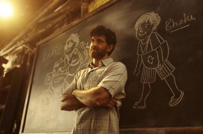 """A Poster of Hritik Roshan from his upcoming movie """"Super 30"""". (TPML Photo)"""