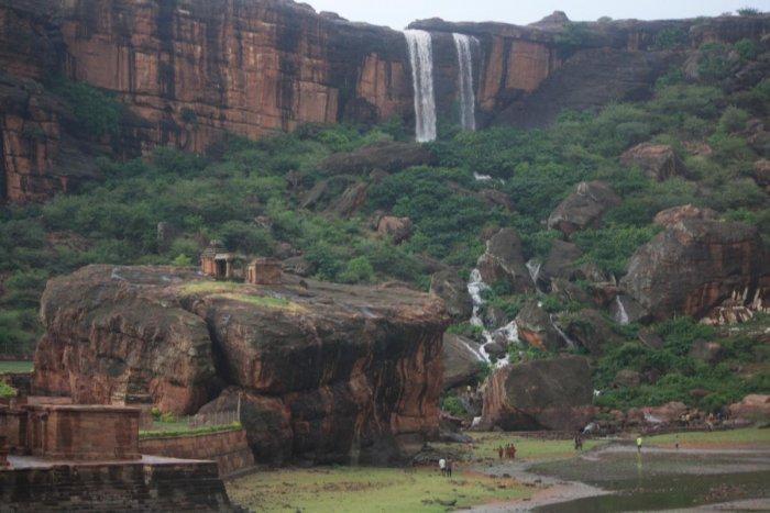 Badami waterfalls