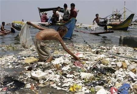 Oceans are beginning to choke with plastic