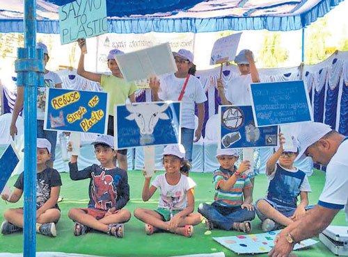 Singasandra ward joins plastic 'ban'wagon