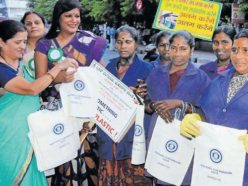 VV Puram joins plastic 'ban'wagon