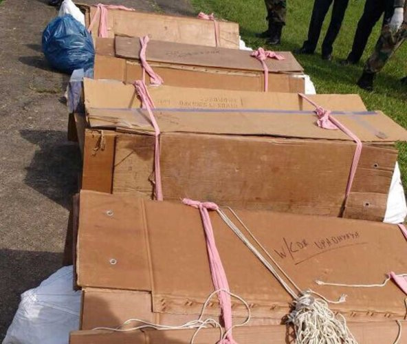 Outrage over images of soldiers' bodies in plastic sacks