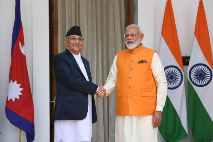 India on Monday extended a financial aid of 1.6 billion Nepalese rupees to Nepal to help 50,000 people in Nuwakot and Gorkha districts rebuild their houses damaged in the devastating earthquake in 2015. (AFP File Photo)