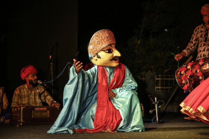 All too real A Rajasthani puppet.