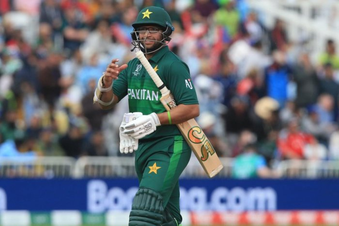 Pakistan opener Imam-ul-Haq is relishing facing Australia pace spearhead Mitchell Starc when the two teams meet in the World Cup in Taunton (AFP Photo)