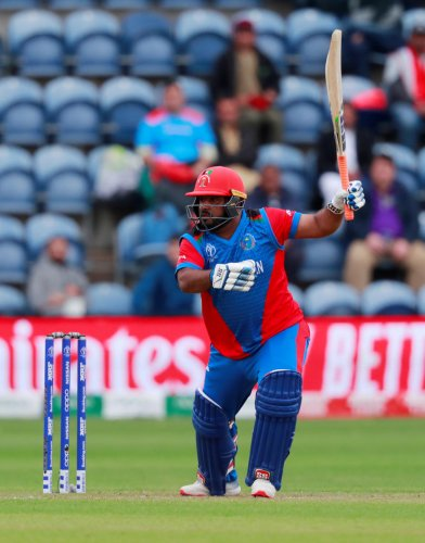 Afghanistan's Mohammad Shahzad (Reuters File Photo)
