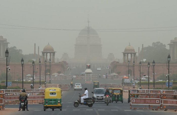The report said household air pollution contributes about a quarter of the outdoor air pollution in the country. (AFP File Photo)