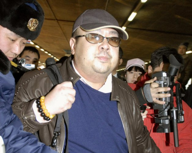 """The Journal cited an unnamed """"person knowledgeable about the matter"""" for the report, and said many details of Kim Jong-nam's relationship with the CIA remained unclear. (Reuters File Photo)"""