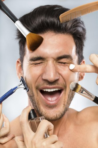 Men require skincare routines that are simple and not too time-consuming.
