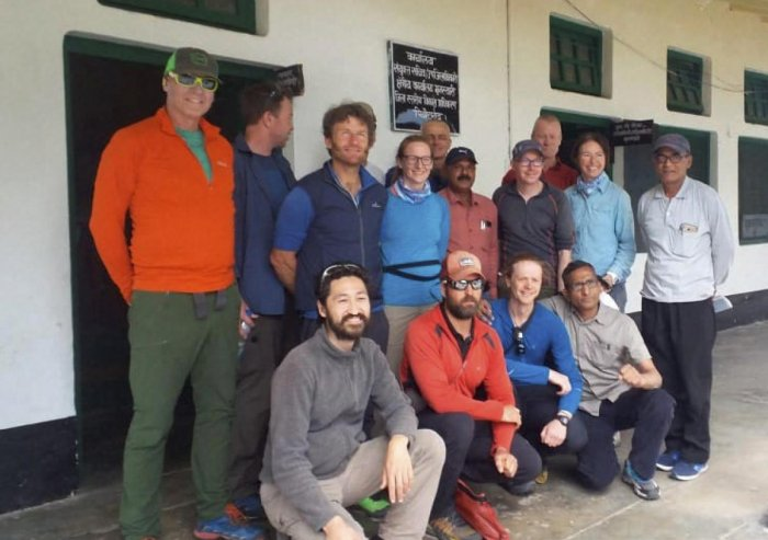 Pithoragarh: In this undated file photo, foreign team members missing in Nanda Devi East before their expedition are seen in Pithoragarh, Tuesday, June 4, 2019. (PTI Photo) (PTI6_4_2019_000180B)