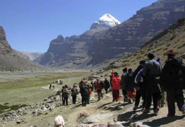 The pilgrimage began on Wednesday, with the first batch of 59 pilgrims reaching Almora from New Delhi. (File photo)