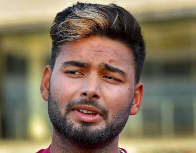 Young wicketkeeper-batsman Rishabh Pant was on Wednesday brought in as cover for the injured Shikhar Dhawan in India's World Cup squad. PTI file photo