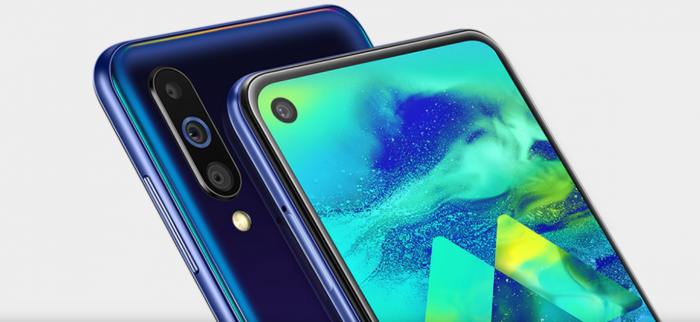 Samsung Galaxy M40 with Infinity-O display launched   Deccan