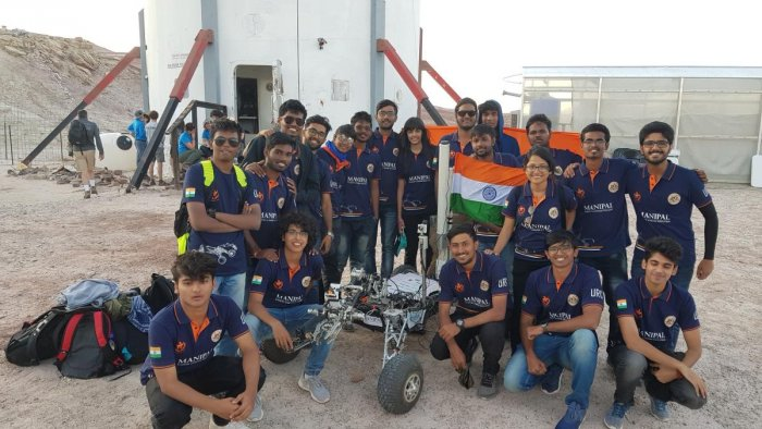 Team Mars Rover Manipal from Manipal Institute of Technology .