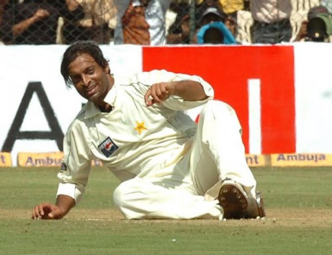 Former Pakistan pacer Shoaib Akhtar believes Yuvraj Singh is the most elegant left-hander to have played cricket for India. (DH Photo)