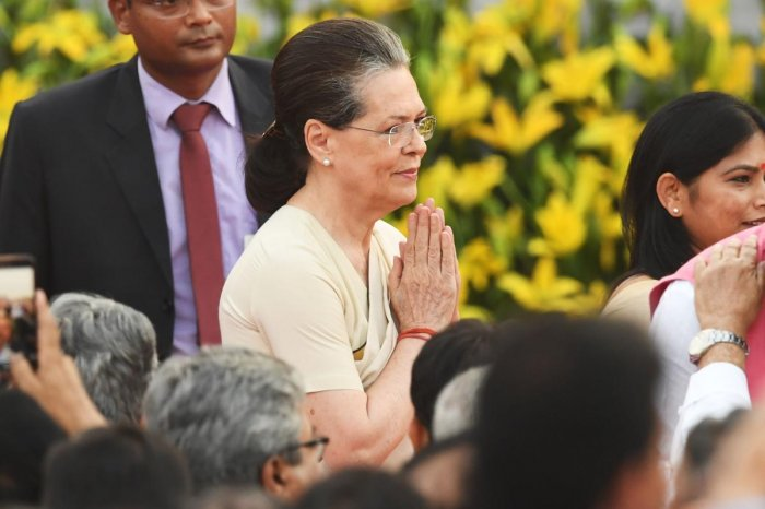 UPA chairperson Sonia Gandhi (AFP File Photo)