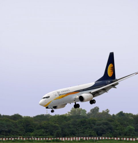 Jet Airways shares have been falling for ninth consecutive days, tumbling 39 per cent on the BSE. (Reuters File Photo)