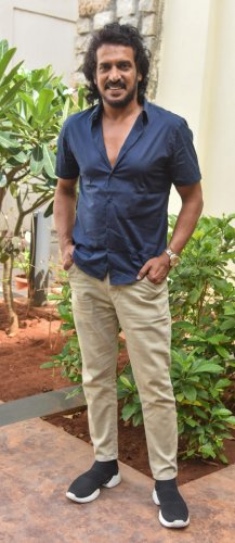Actor Upendra DH Photo by S K Dinesh