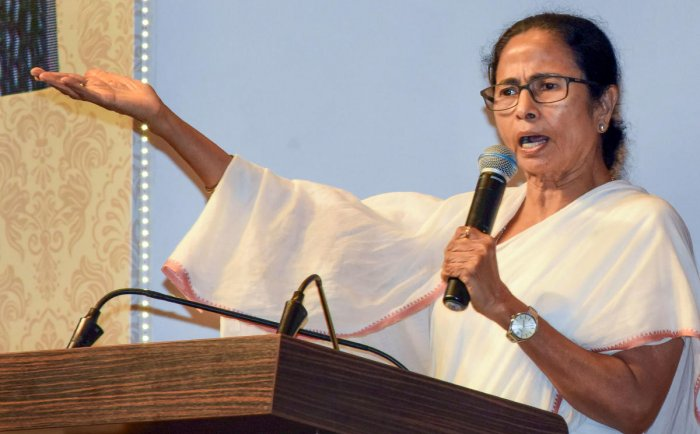 West Bengal Chief Minister Mamata Banerjee (Photo PTI)