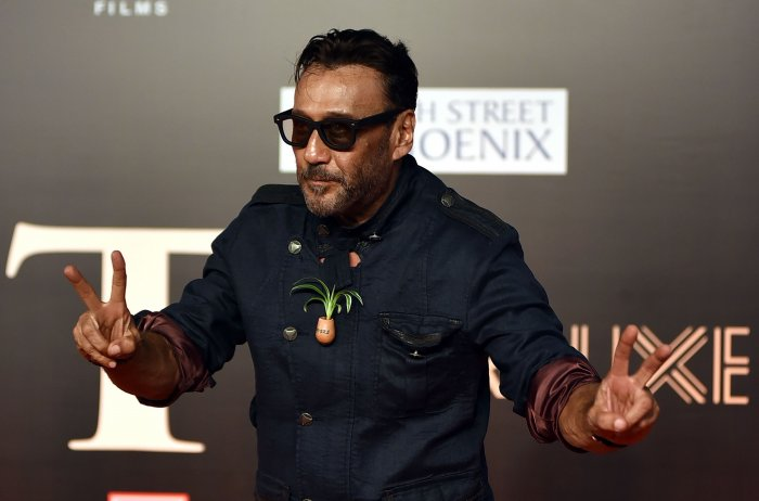 Bollywood actor Jackie Shroff on Saturday floated the idea for a separate road corridor for movement of patients, which can also be used for other emergency services.(AFP Photo)