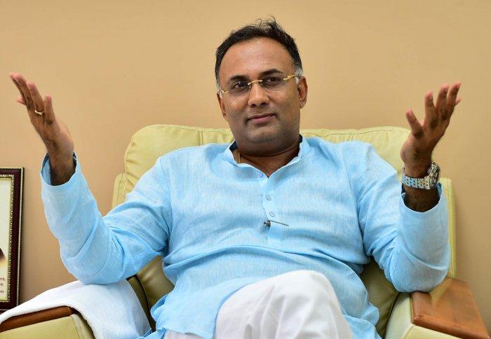 Karnataka Congress chief Dinesh Gundu Rao (File Photo)