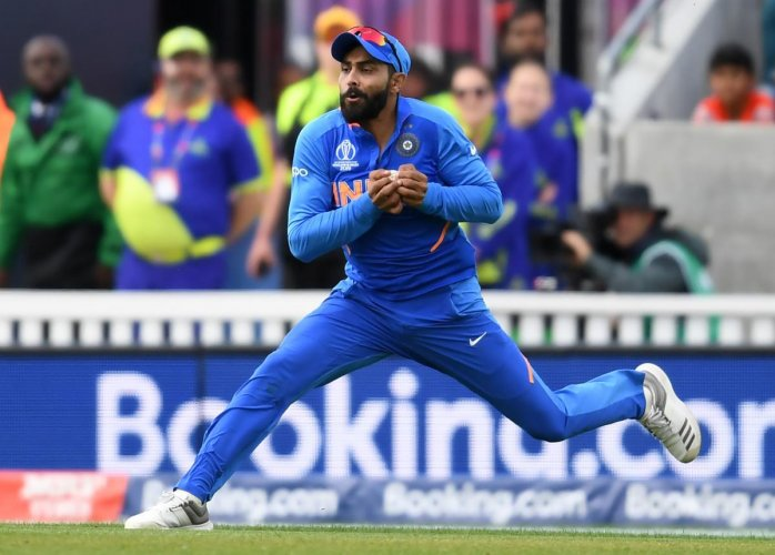 SETTING EXAMPLES: India's Ravindra Jadeja is blessed with fine ball sense and great speed.