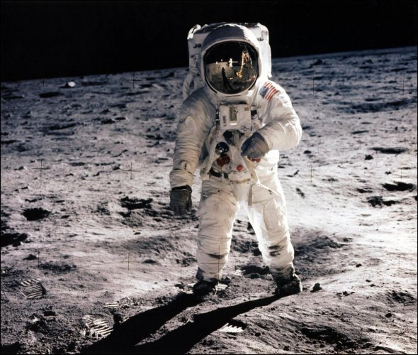 """NASA plans to return to the Moon by 2024 as a """"proving ground"""" to test the next generation of spacecraft ahead of an eventual crewed mission to Mars. (AFP File Photo)"""