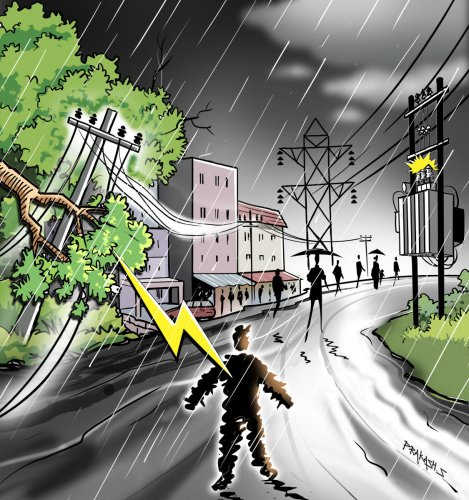Hurry, bury the power lines | Deccan Herald