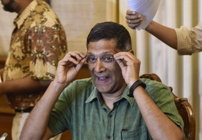 Former Chief Economic Advisor Arvind Subramanian's paper on GDP estimation has stirred the proverbial hornet's nest. (PTI Photo)