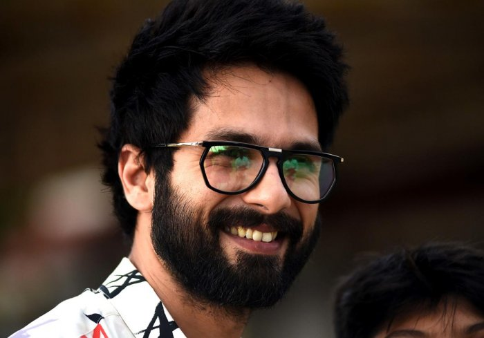 """""""Nobody else had the guts to play these characters. Maybe because I am my father's (Pankaj Kapur) son, I felt the need to play such flawed characters,"""" Shahid told PTI in an interview. (PTI File Photo)"""