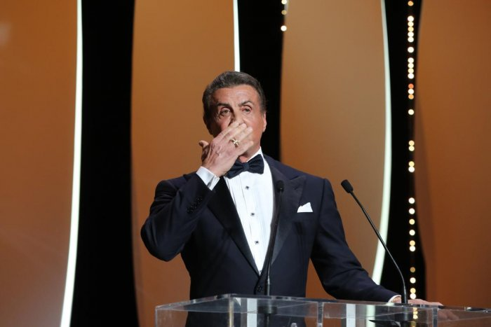 In his Instagram post, Stallone recalled the characters -- Rocky's beloved wife Adrian, his trainer-manager Mickey Goldmill and opponent Apollo Creed. (AFP File Photo)