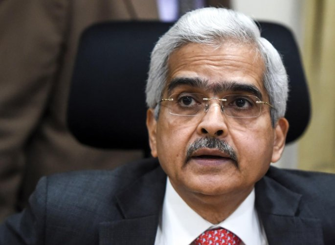 Reserve Bank of India (RBI) Governor Shaktikanta Das. (AFP)