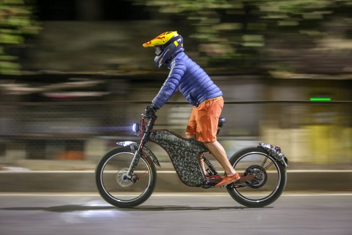 Pune-based start-upPolaritySmart Bikes will unveil two-wheeled electric vehicles (EV) with speed up to 100 kmph. (DH Photo)