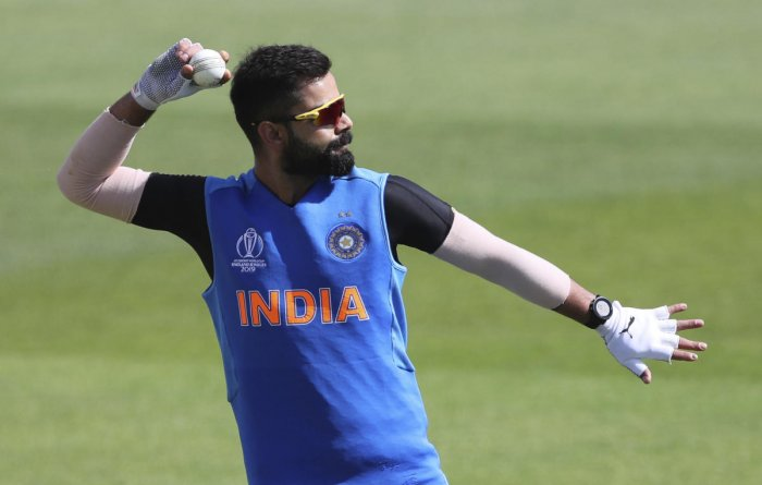 BUNDLE OF ENERGY: India skipper Virat Kohli leads by example in terms of diet and fitness levels. AP/ PTI