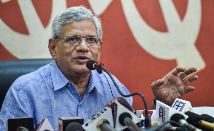 CPI(M) General Secretary Sitaram Yechury. (PTI File Photo)