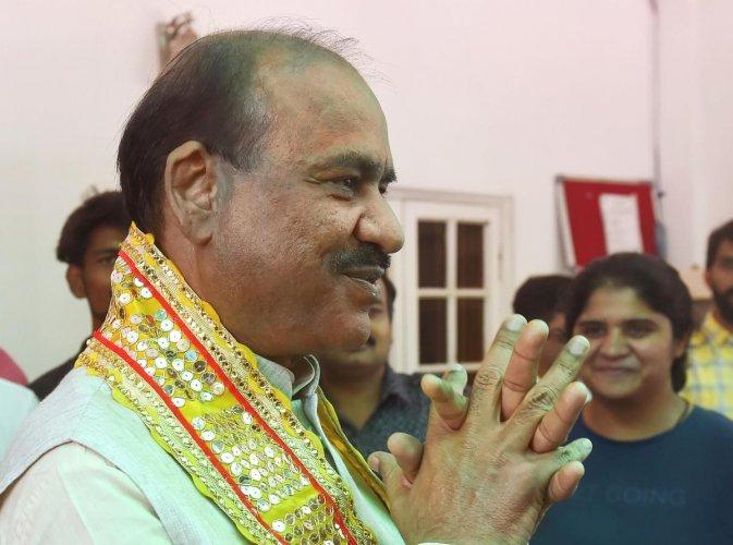 Om Birla (PTI)