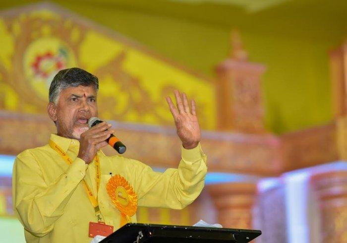 Chandrababu Naidu. File photo